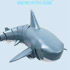 4CH 2.4G 1:18 Radio Control Toy Electric RC Shark Ship Swim in Pool Toys