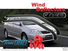 Toyota COROLLA E12 2002 - 2007 5D Wind deflectors  2.pc  HEKO  29336 only FRONT