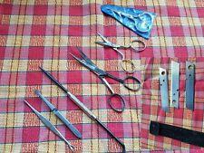 LOT Solingen MIXED TOOLS : NICE LOT most MADE Germany - knives tweezers scissors