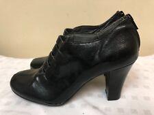 Aerosoles Role Note Black man made material zipper Heels  women Shoes SZ 7.5 M