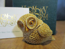 Harmony Kingdom Who'd A Thought Owl Early Piece SGN