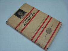 (Ugo Foscolo) Ultime lettere di Jacopo Ortis 1963 Einaudi Nue 22