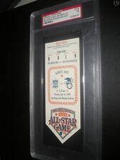 1992 ALL STAR GAME TICKET SAN DIEGO  PSA 7 NM