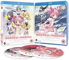 Puella Magi Madoka Magica Entire Series NEW Cult Blu-Ray 3-Disc Set Shinbo Japan
