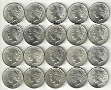 1 Roll__Peace Silver Dollars__BU/UNC__#1428KE26