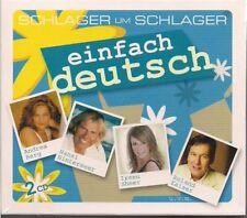 2 CD Kaiser, Vicky Leandros,Lena Valaitis, Andrea Berg `einfach deutsch` Neu/OVP