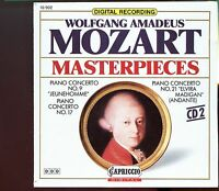 Wolfgang Amadeus Mozart - Masterpieces / Vol.2 Piano Concertos - CD2