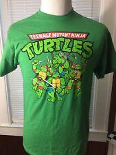Teenage Mutant Ninja Turtles T-Shirt M Mens Nickelodeon Short Sleeve Movie Green