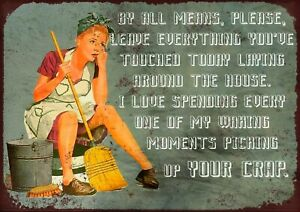 """BY ALL MEANS- RETRO 7.5"""" x 10.5"""" VINTAGE STYLE METAL SIGN WALL PLAQUE"""