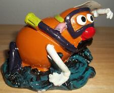 Mr Potato Head Snorkeling Top Fin Fish Tank Figure Aquarium Decoration Ornament