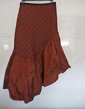 Nathalie Garçon - très belle jupe légère marron T. 36 - 38 TTBE