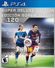 FIFA 16 -- Super Deluxe Edition (Sony PlayStation 4, 2015)