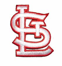 R/W St Louis Cardinals Baseball MLB Iron On Patch Embroidered Team Logo 2.25""