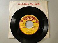 JOHNNY ACE - Pledging My Love b/w No Money - 45 rpm vinyl record  Duke-136 1954
