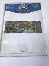 DMC Deco Cross Stitch Kit Bluebells Canal Boat