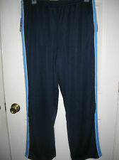 mens Sweat Pants size Medium BLUE Lounge lightweight mesh drawstring pockets T30