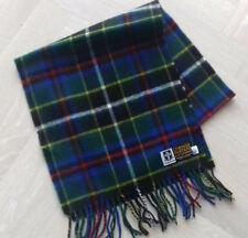 NEW Cornish Hunting tartan - Brushed lambswool scarf with fringing - rectangular