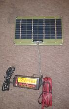 12Vpsc-10W-Mk24V Pulsetech Battery solar pulse charger Pre-owned Excellent condi