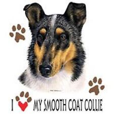 Smooth Coat Collie Love T Shirt Pick Your Size 7 X Large to 14X Large