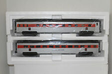 mth #20-66225 new haven  abs 70' sleeper/diner passenger car 2 pack (ribbed)