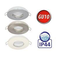Slim Alu Decken Einbaurahmen LED Spot GU10 IP20 MR16 IP65 230V IP44 Wasserdicht