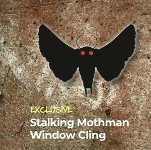 """FALLOUT """"STALKING MOTHMAN"""" Decal Window Cling """"Watch"""" LootCrate Exclusive"""