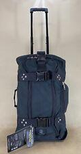 Club Glove mini rolling duffel iii bag Black Cordura Wheeled Carry On Luggage