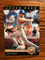 1993 Upper Deck #2 Mike Piazza Baseball Card Rookie RC Los Angeles Dodgers Raw