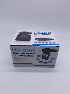 """HD DVR Vehicle Cam Recorder With 2.5"""" TFT LCD Screen Black   #8"""