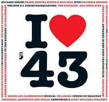 74th Compleanno Anniversario Carta Regalo I Love 1943 POP CD Saluti Carte Regali