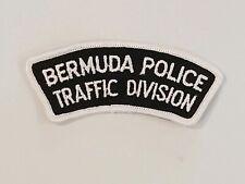 BERMUDA POLICE TRAFFIC DIVISION  POLICE  PATCH