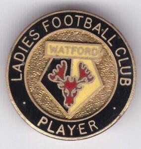 Watford FC Ladies Team Player Excellent Badge