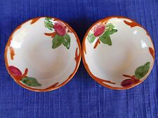 Franciscan Apple DESSERT  BOWL set of TWO (2)  *have more items to set* ENGLAND