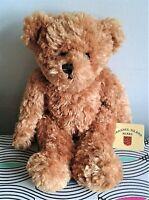"Toffee Bear Channel Islands 10"" Teddy Bear Soft Toy Plush Beanie Comforter.TAG"
