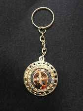 San Benito St Benedict Medal Key Chain -NEW