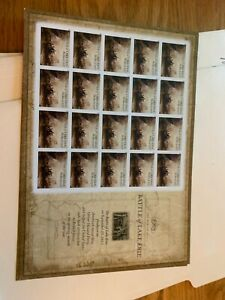 US Stamps 2013 Scott #4805 MNH Battle of Lake Erie Complete Sheet