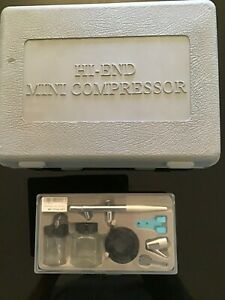 AIR BRUSH KIT  and HIGH END compressor  RC car truck  new in box.