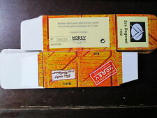 BOITE VIDE NOREV  CITROEN 2CV DAGONET 1956 EMPTY BOX CAJA VACCIA