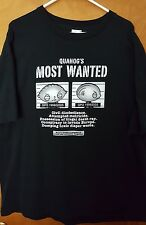 2005 Family Guy Stewie Griffin Quahog's Most Wanted T-shirt 2XL XXL Preworn