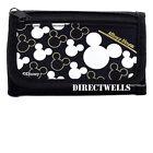 Disney Mickey Mouse Black Silver Wallet