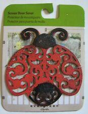 Decorative Magnetic Screen Door Saver Ladybug Evergreen Garden New
