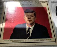 John Fitzgerald Kennedy - A Memorial Album 1963 LP Highlights of Speeches