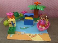 Lego Duplo 7330 Dora The Explorer Treasure Island 23 Bricks Plus Mat