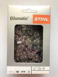 "25"" 25 inch GENUINE STIHL Chainsaw Chain 84 D/L 3/8 063 FOR Husqvarna STIHL Echo"