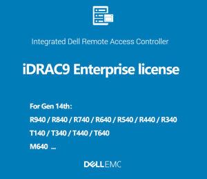 iDRAC9 Enterprise License IDRAC  R740 R740xa R640 R540 R440 R340 R240 T640 T440