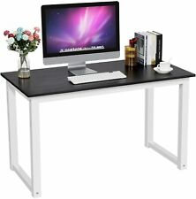 Computer Desk PC Laptop Table Study Workstation Wood Home Office Furniture Black