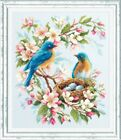 Counted Cross Stitch Kit MAGIC NEEDLE - Spring song