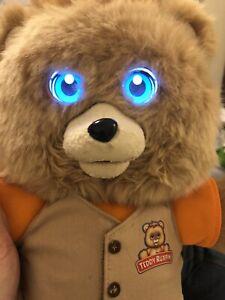 2017 TEDDY RUXBIN USB CHARGING BLUETOOTH STORY TELLING BEAR Rare Reading Retired