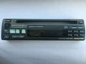 Alpine Cdm-7835 FACEPLATE ONLY (not tested)