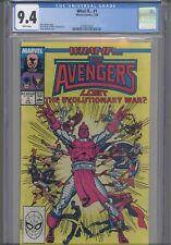 What If... #1 CGC 9.4 1989 Marvel Avengers Lost Evolutionary War: NEW Frame